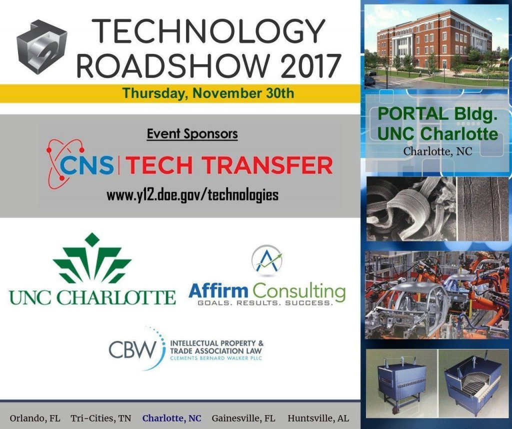 technology road show - charlotte