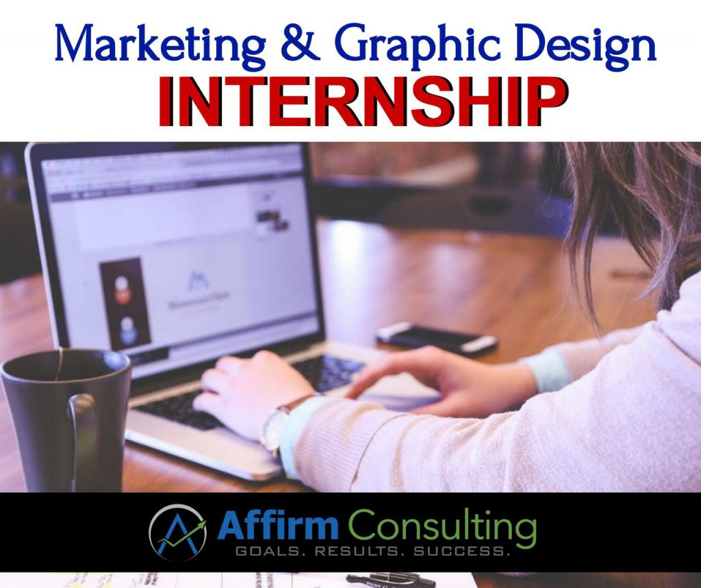 Marketing & Graphic Design Internsip - Affirm Consulting